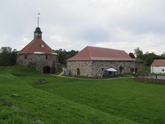 Приозерск: крепость Корела